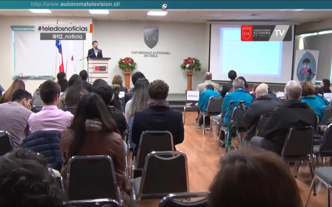 Agrupación de Parkinson Temuco dictó seminario dirigido a alumnos de la UA